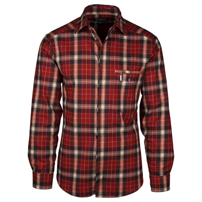 SKAUEN FIELD SHIRT (M) - Red, XXL