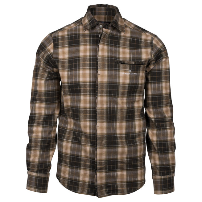 SKAUEN FIELD SHIRT (M) - Faded Black, S