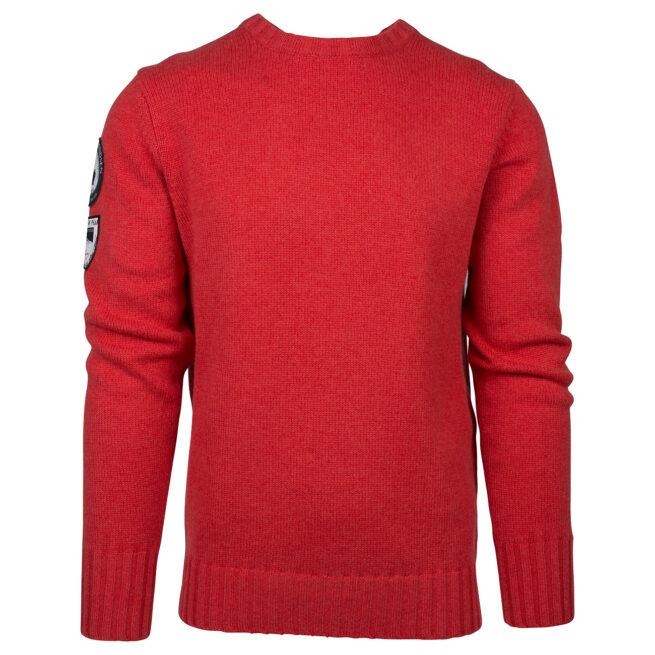 AMUNDSEN PEAK CREW NECK (M) - Weathered Red, S 1