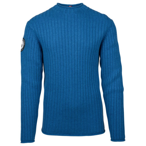 ROALD ROLL NECK (M) - Battered Blue, S