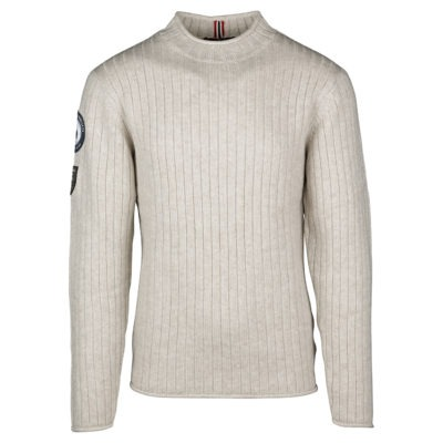 ROALD ROLL NECK (M) - Oatmeal, S