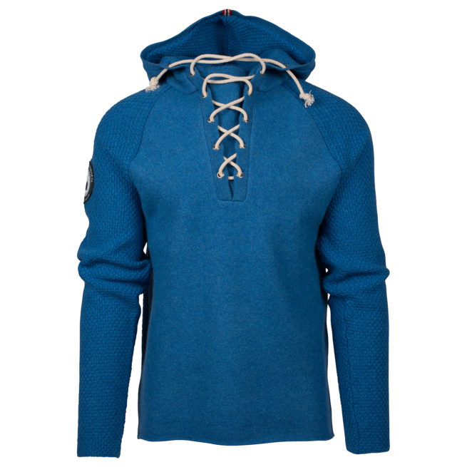 BOILED HOODIE LACED (M) - Battered Blue, S 1