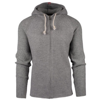 BOILED HOODIE JACKET (M) - Light grey, XXL