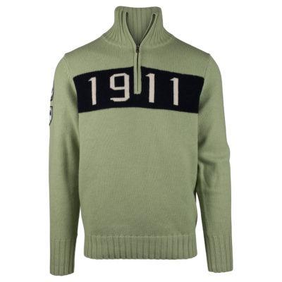 1911 HALF ZIP (M) - Sage, XXL