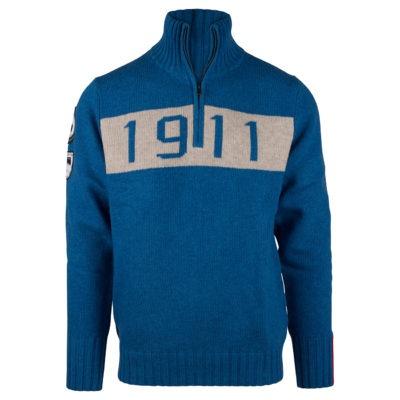 1911 HALF ZIP (M) - Battered Blue, S