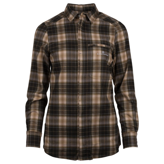SKAUEN FIELD SHIRT (W) - Faded Black, XS