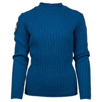 ROALDA ROLL NECK (W) - Battered Blue, XS