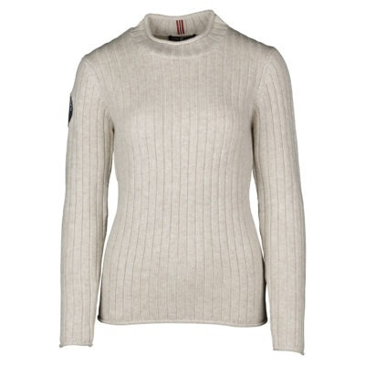 ROALDA ROLL NECK (W) - Oatmeal, XS