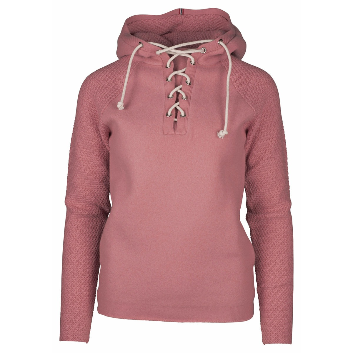 BOILED HOODIE LACED (W) - Pink, XS