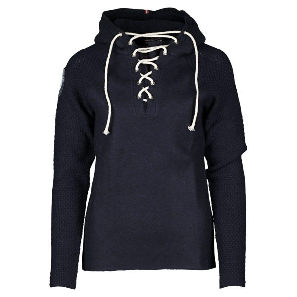 BOILED HOODIE LACED (W) 1