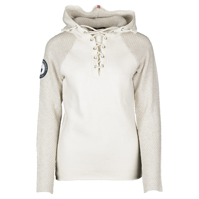 BOILED HOODIE LACED (W) - Battered Blue, XS