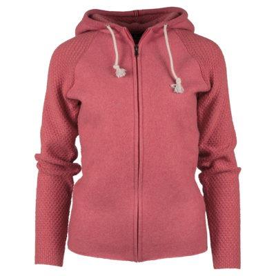 BOILED HOODIE JACKET (W) - Pink, XL