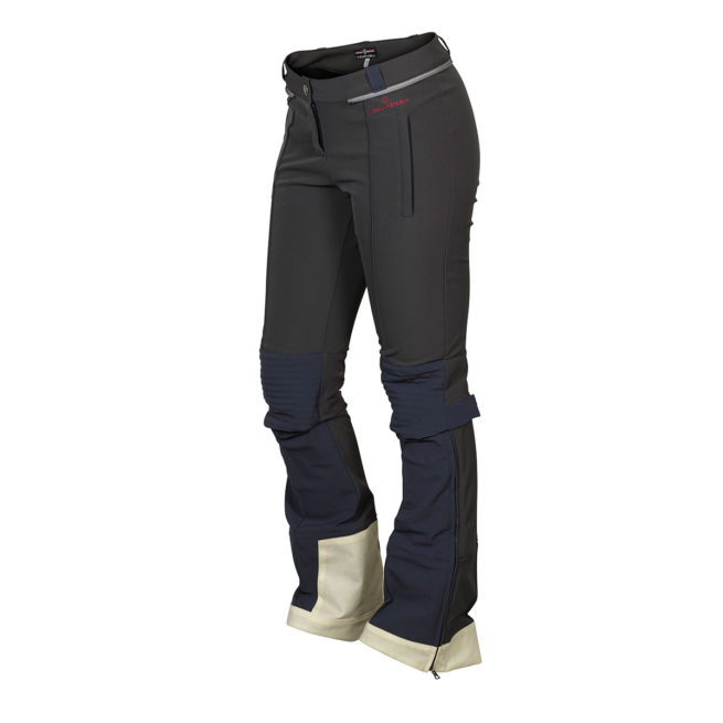 FUSION SPLIT PANTS (W) - Faded Navy, S