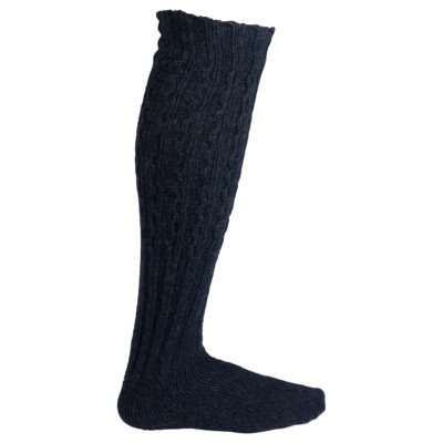 TRADITIONAL SOCK - Faded Navy, S 1