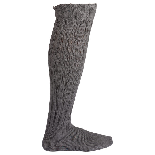 TRADITIONAL SOCK - Light grey, S 1