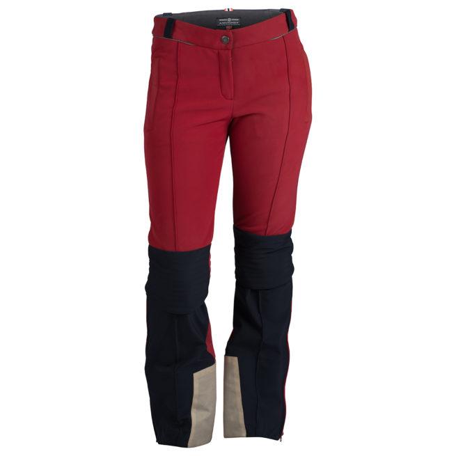 FUSION SPLIT PANTS (W) - Weathered Red, XS 1