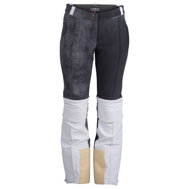 FUSION SPLIT PANTS (W) - White / Faded Navy, XS