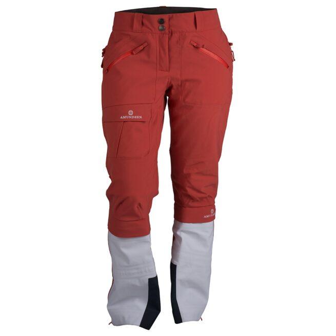 KLEIVA SPLIT-PANTS (W) - Weathered Red, XS 1