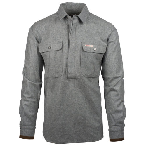 Herdsman Field Tunic // Light Grey (M)
