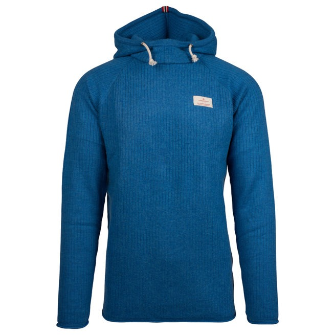 BOILED HOODIE RIBBED (M) - Battered Blue, S