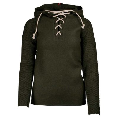 BOILED HOODIE LACED Womens - Earth, M