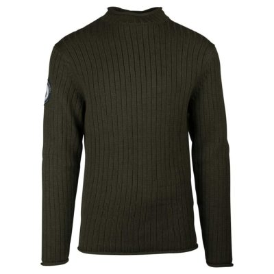 ROALD ROLL NECK Mens - Earth, S