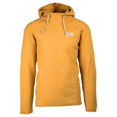 BOILED HOODIE RIBBED Mens - Yellow Haze, XXL